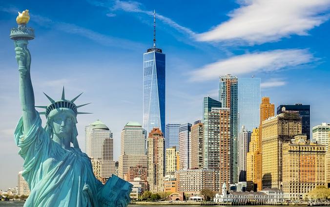 Sie ist das Wahrzeichen von New York: die Freiheitsstatue.(#10)