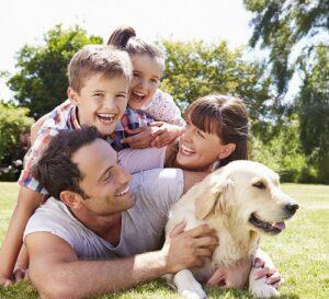 geeignete Hunderasse: Hund mit Familie (#01)