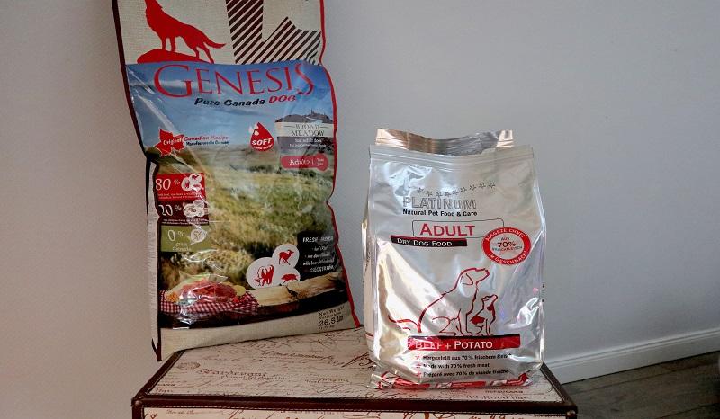 GENESIS Pure Canada BROAD MEADOW vs. PLATINUM Adult Beef +Potato: Zwei getreidefreie Trockenfutter im Test