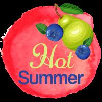 """Hundeeis selber machen Rezept #11: """"Hot Summer"""""""