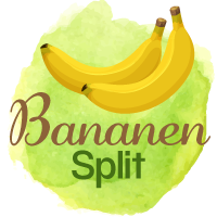 "Hundeeis selber machen Rezept #2: ""Bananen Split"""