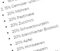 Barfgold Inhaltsangaben: 7x 20% = 100% ?