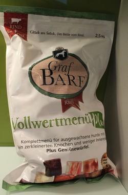 Graf Barf Vollwertmenü Plus Rind ( Foto: Vivian Hinz )