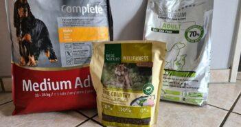 Hundefutter Test: SELECT GOLD, REAL NATURE und PLATINUM